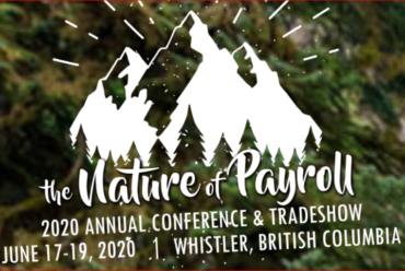 2020 Canadian Payroll Association's Annual Conference